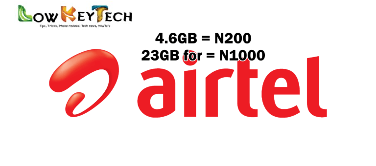 How To Activate Your Airtel Sim For 4.2GB@N200 And 23GB@N1000